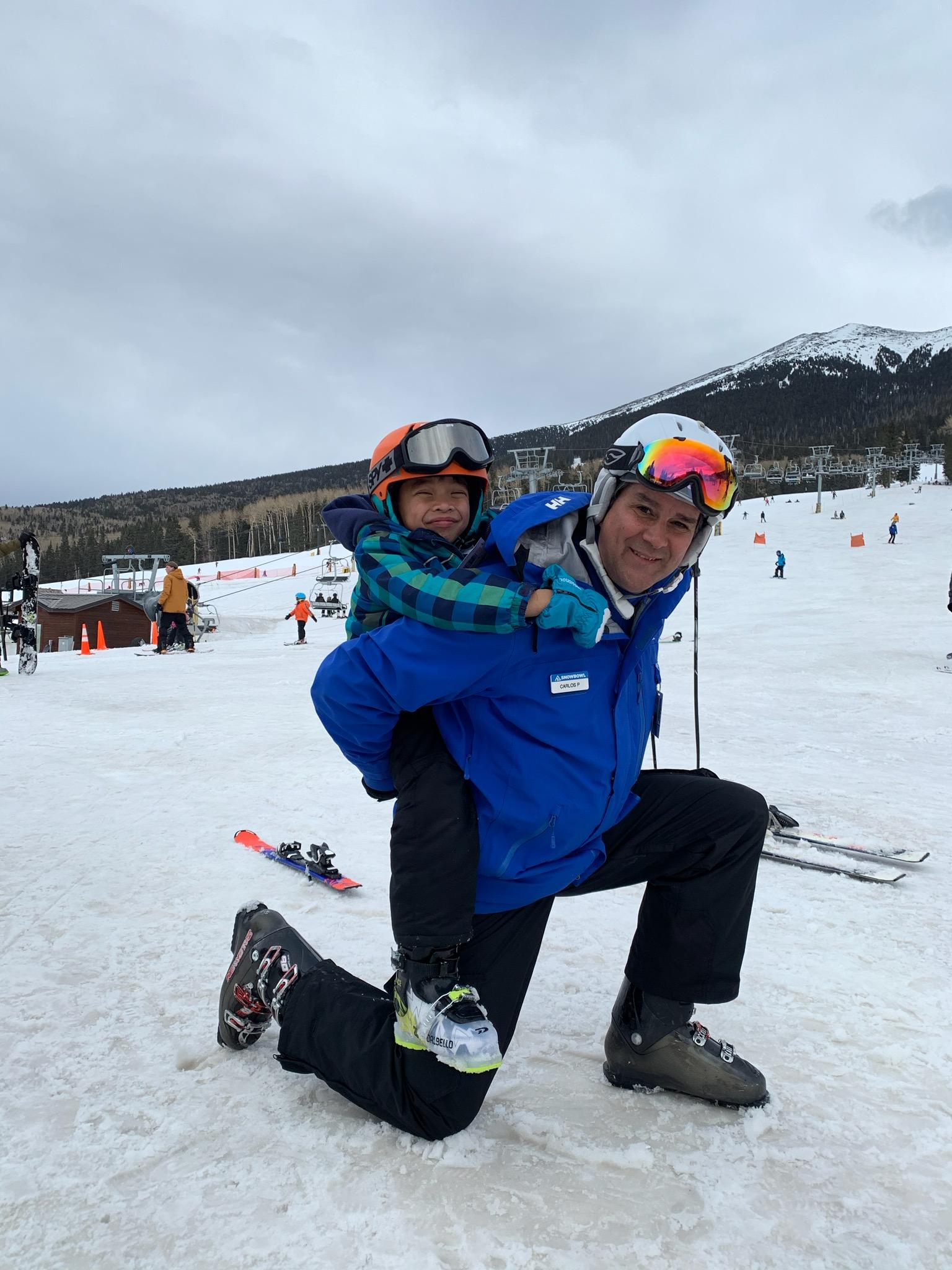 Ski Instructor Carlos Petersen